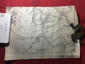 沪杭甬铁路图《摘自民国八年》 见描述
