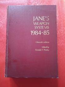JANES WEAPON SYSTEMS(1984-85年武器系统年鉴)第15版