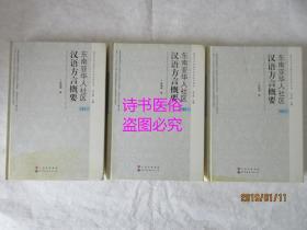 东南亚华人社区汉语方言概要(上中下共三册)——海内方言与海外方言关系丛书