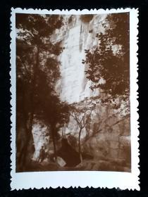风景老相片照片一枚七十年代作品