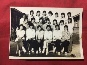 萧山县七十年代老照片《都是美女》