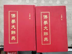 佛学大辞典(上下册)