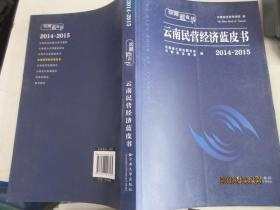 云南民营经济蓝皮书(2014-2015)/云南蓝皮书