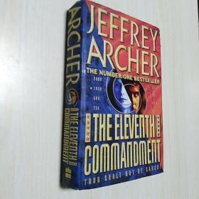 The Eleventh Commandment (Jeffrey Archer  签赠本) (精装)