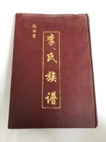 李氏族谱&建国后&精装&陇西堂&16开&历史&族谱&姓氏&家谱