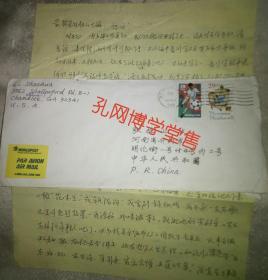 美国USA 信封.信札