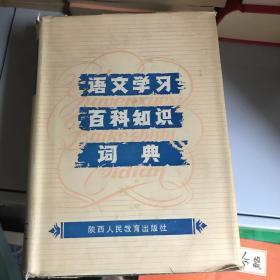 语文学习百科知识词典 一版一印