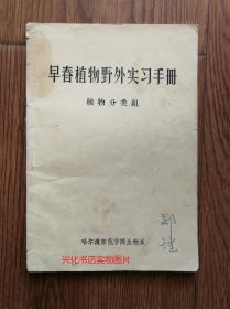 早春植物野外实习手册(植物分类组)