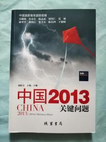中国2013关键问题