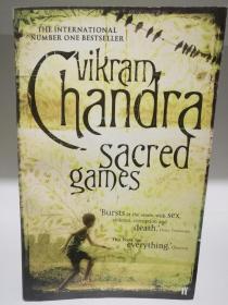 神圣游戏 Sacred Games by Vikram Chandra (印度文学/ Netflix 剧集原著)英文原版书