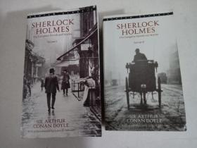 Sherlock Holmes The Complete Novels and Stories (Volume I & II)【《福尔摩斯探案全集》全两册 英文原版 Bantam Classic】