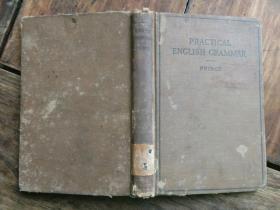 民国版英文书《PRACTICAL.ENGLISH.GRAMMAR》,国立武汉大学藏书,包快递。