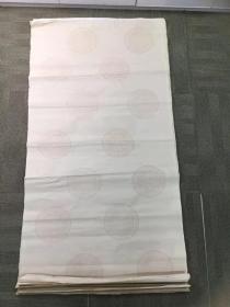 八十年代仿古瓦当纹宣纸17张,四尺整张,略有轻微水迹