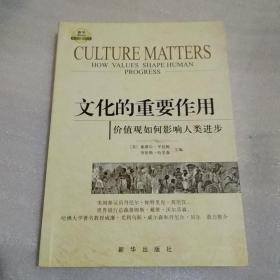 文化的重要作用 : 价值观如何影响人类进步
