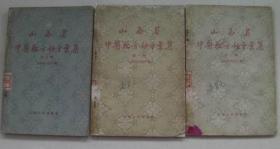 山西省中医验方秘方汇集 第1.2.3.全辑 三册全精美影印版。