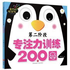 童心悦读馆 专注力训练200图 第二阶段 文心 天地出版社 9787545545982