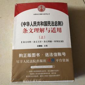 中华人民共和国民法总则 条文理解与适用(套装上下册)