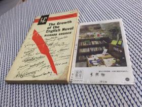 英文原版 the growth of the english novel 英国小说的成长