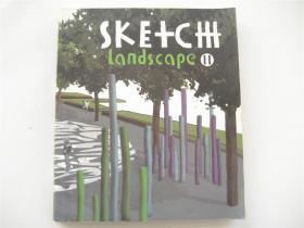 英文原版    Sketch Landscape(草图景观)Ⅱ    20开铜版彩印本