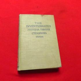 无脊动物第一卷(英文原版)THEINVERTEBRATES  1940年