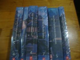 英文原版 哈利波特, 2--7册全,6本合售 未拆封