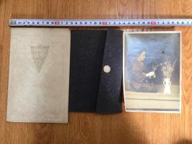 【民國7】民國日本照片三張合售,兩張精美紙質相冊裝裱