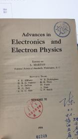 电子学的进展 卷六 英文