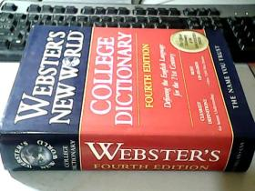 WEBSTERS NEWWRLD COLLEGE DICTIONARY(韦氏新世界大学词典 精装)原版