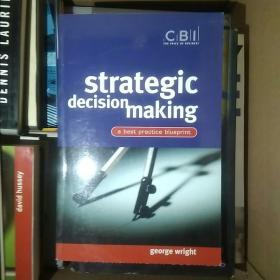 Strategic Decision Making: A Best Practice Blueprint
