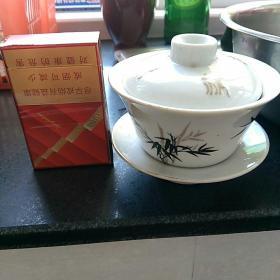 文革时期,霞浦瓷厂。茶盏