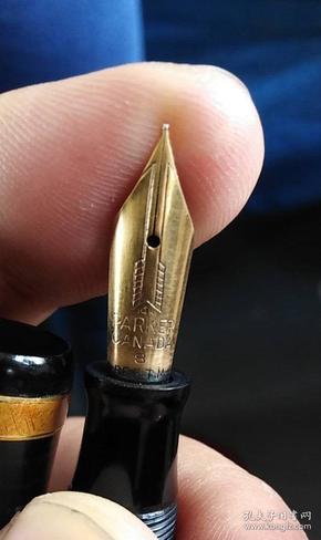 派克金笔 14K金笔尖 民国老金笔 派克老钢笔 正常使用