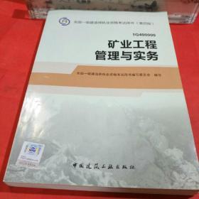 2014年一级建造师 一建教材 矿业工程管理与实务 第四版