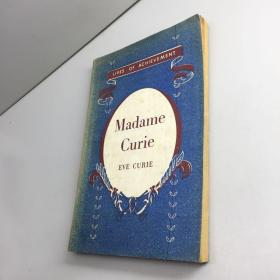 LIVES OF ACHIEVEAMENT Madame Curie EVE CURIE (外文原版、馆藏)