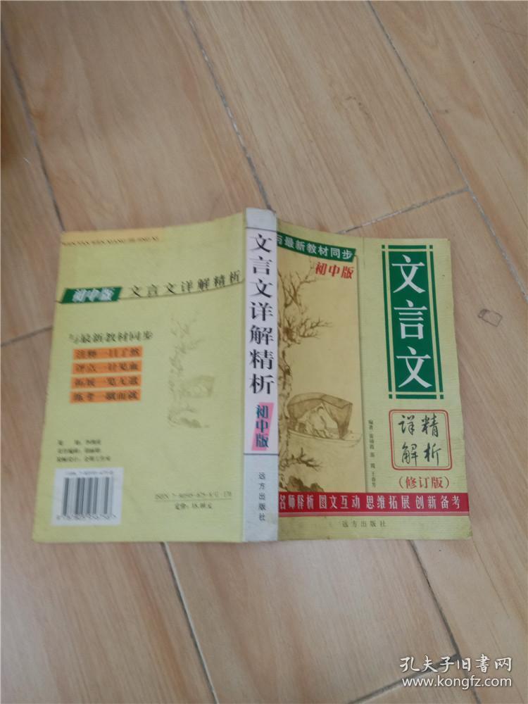 文言文详解精析初中版 修订版