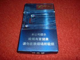 三D烟标-细支空烟盒 卡纸 20支装 带衬纸