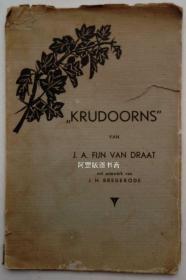 《十字架》1900年荷兰短篇小说诗歌讽刺文学作品表现主义木刻插图本