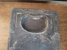 清代老砚台、石质细腻