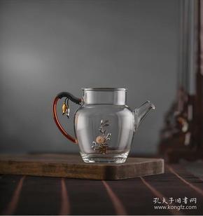 强势推荐一款高性价比的玻璃银器公道杯