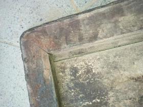 清代黄花梨木板