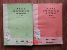黑龙江省主要野生药用植物的鉴别及中草药新制剂.第一部分、第二部分
