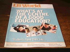 IB WORLD JANUARY 2007