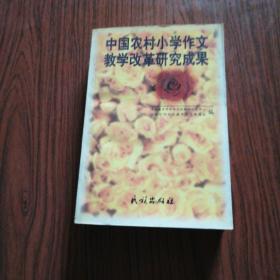 中国农村小学作文教学改革研究成果