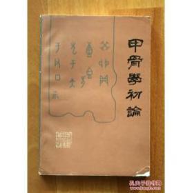 甲骨文初论(手写影印版)