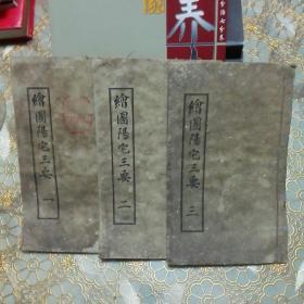 绘图阳宅三要 (一 二 三全3册共四卷 民国三年)