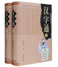 汉字通 套装上下册全2册共二册  正版