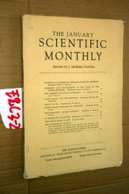 SCIENTIFIC MONTHLY 科学月刊1937年1月 多图片