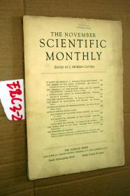 SCIENTIFIC MONTHLY 科学月刊1935年11月 多图片