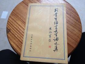 荆贵生语言文字论文集