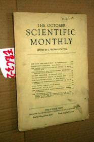 SCIENTIFIC MONTHLY 科学月刊1937年10月 多图片