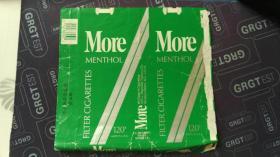 烟标 More Menthol